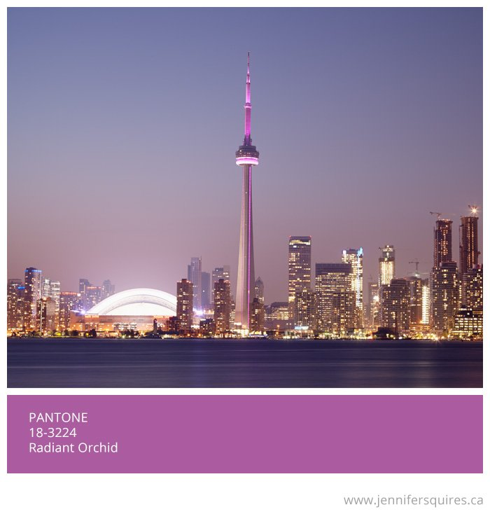 Pantone's Colour of the Year for 2014 - Radiant Orchid