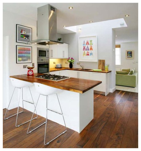 Kitchen Art   Add Colour To A Neutral Room
