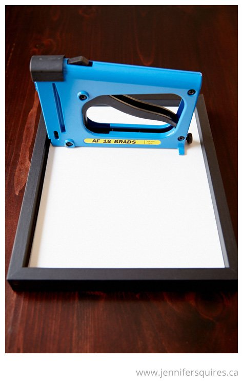 How to Frame a Picture - Nailer