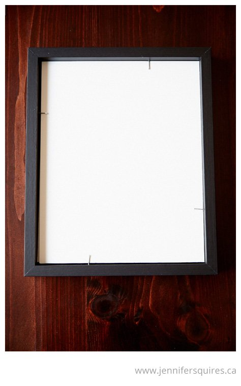 How to Frame a Picture - Nailing