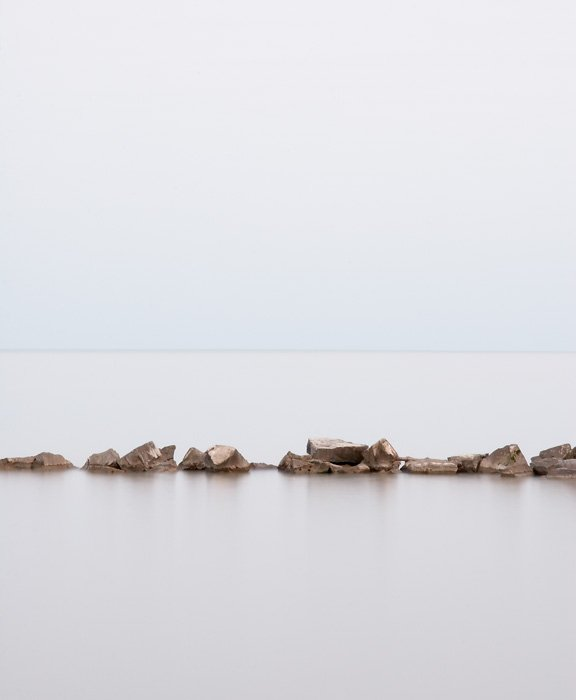 Zen Wall Art - Lake Erie #2