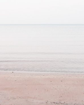 Pale Coastal Wall Decor - Lake Huron #3