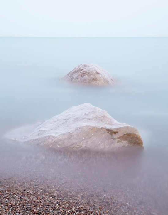 Summer's Serenity - Zen Beach Photograph