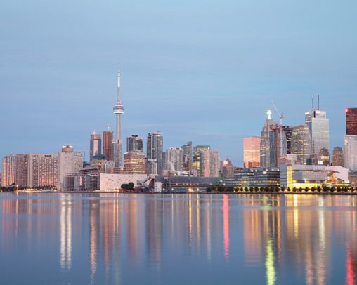 Toronto-at-Dawn-Urban-Photography