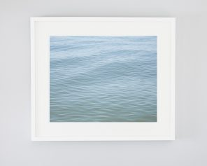 Blue Beach Art - Pelee Rhythm - Modern Coastal Home Decor