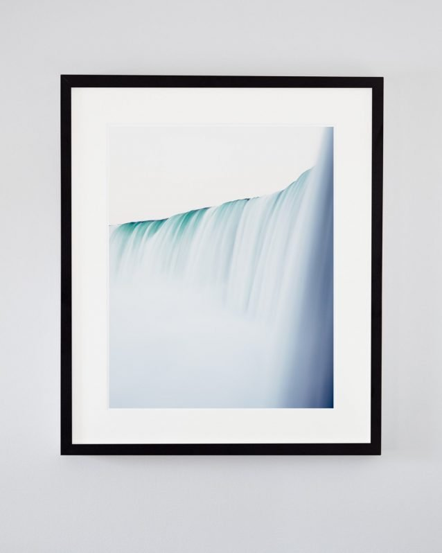 Niagara Falls Art Print - Minimalist Waterfall Photography