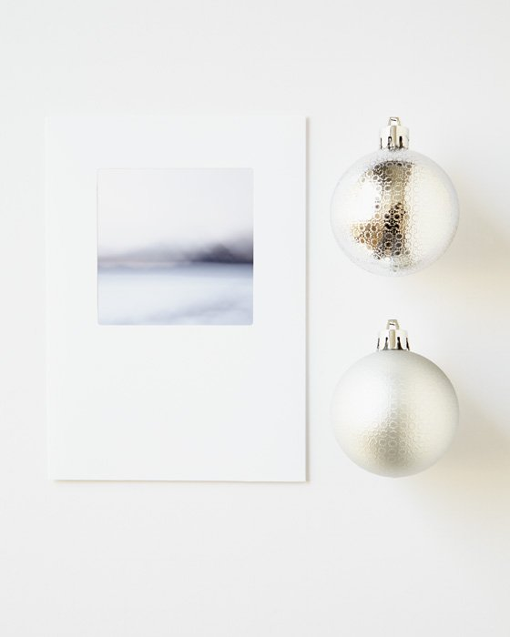 Nordic Holiday Cards - Indigo Escape