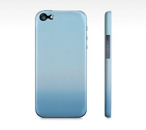 Farther Than The Eye Can See - Blue iPhone Case