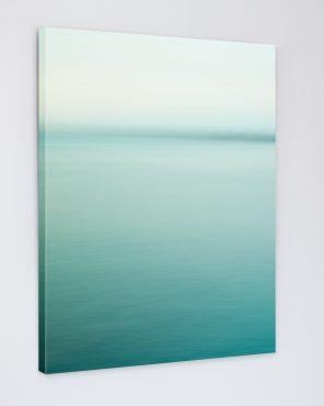 Green Abstract Wall Art - Skyway