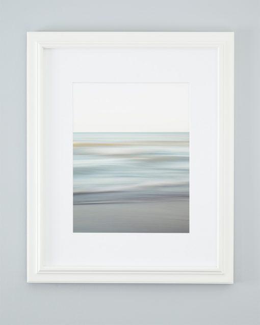Modern Beach Decor - Spring Shore - Framed