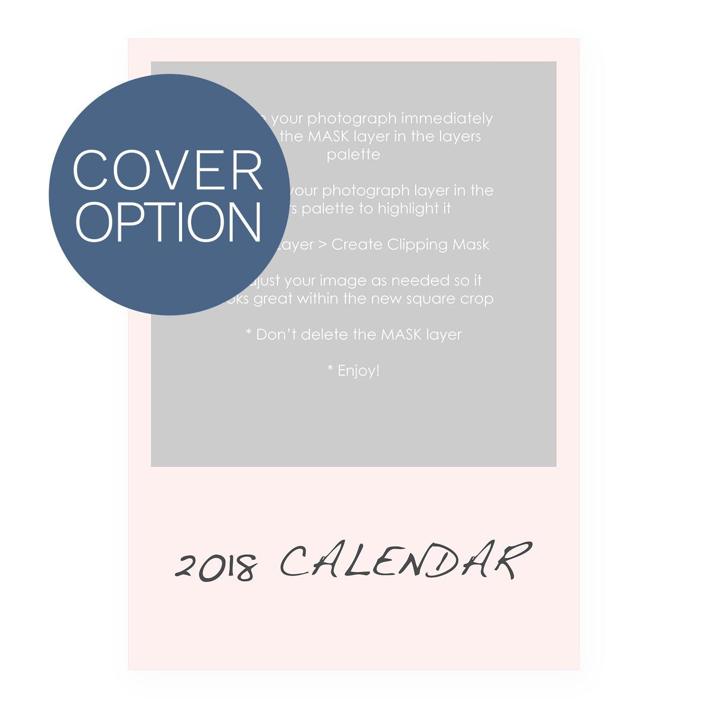 2018 Calendar Template - Border