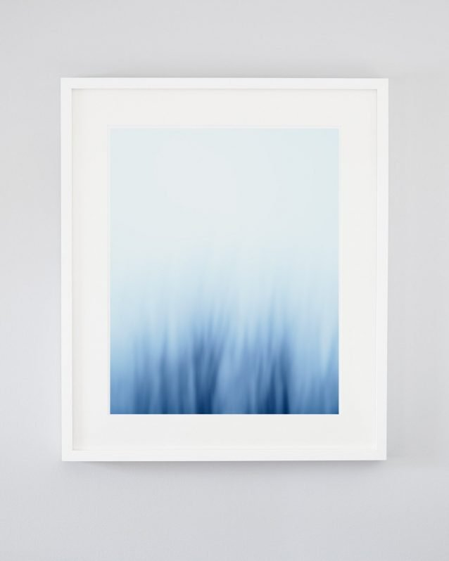 Blue Abstract Wall Art - Under the Sea
