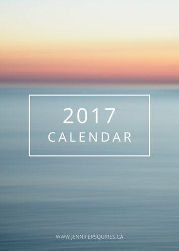 soothing-2017-calendar