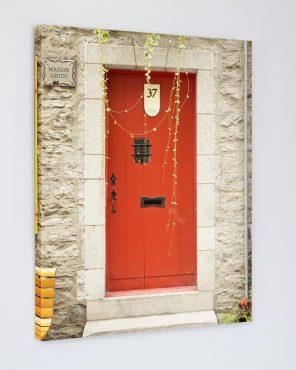 Red Door Art - Maison Amiot, Quebec Travel