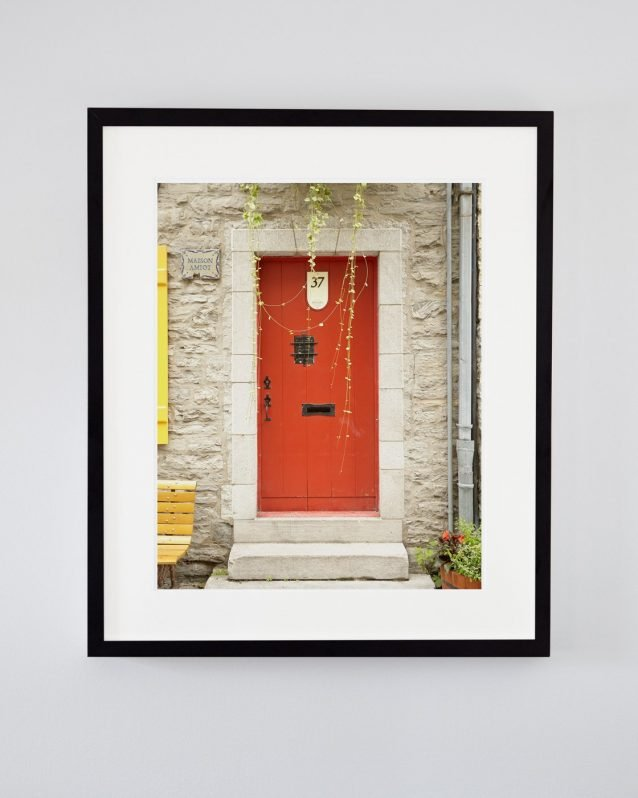 Red Door Art - Maison Amiot, Quebec Travel