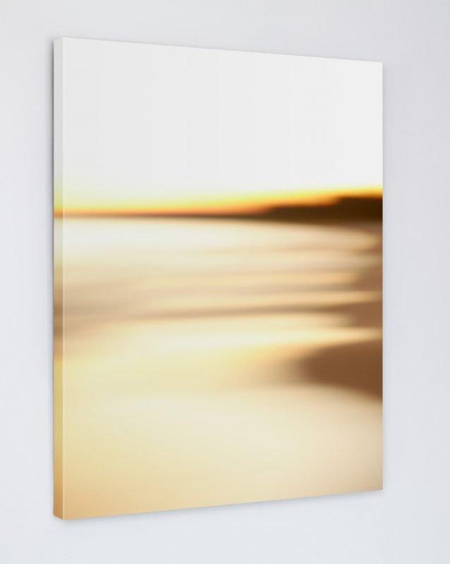 Abstract Beach Art - Steamy - Canvas