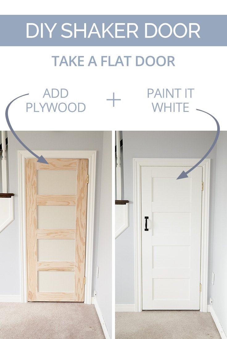 DIY Shaker Door