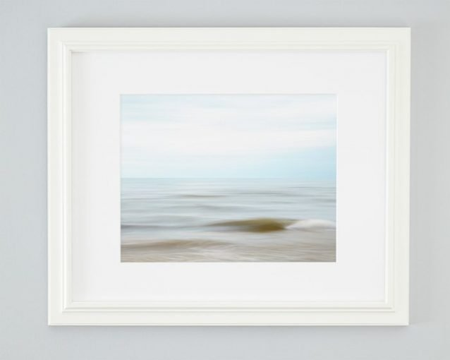Coastal Wall Art Framed - Sandy