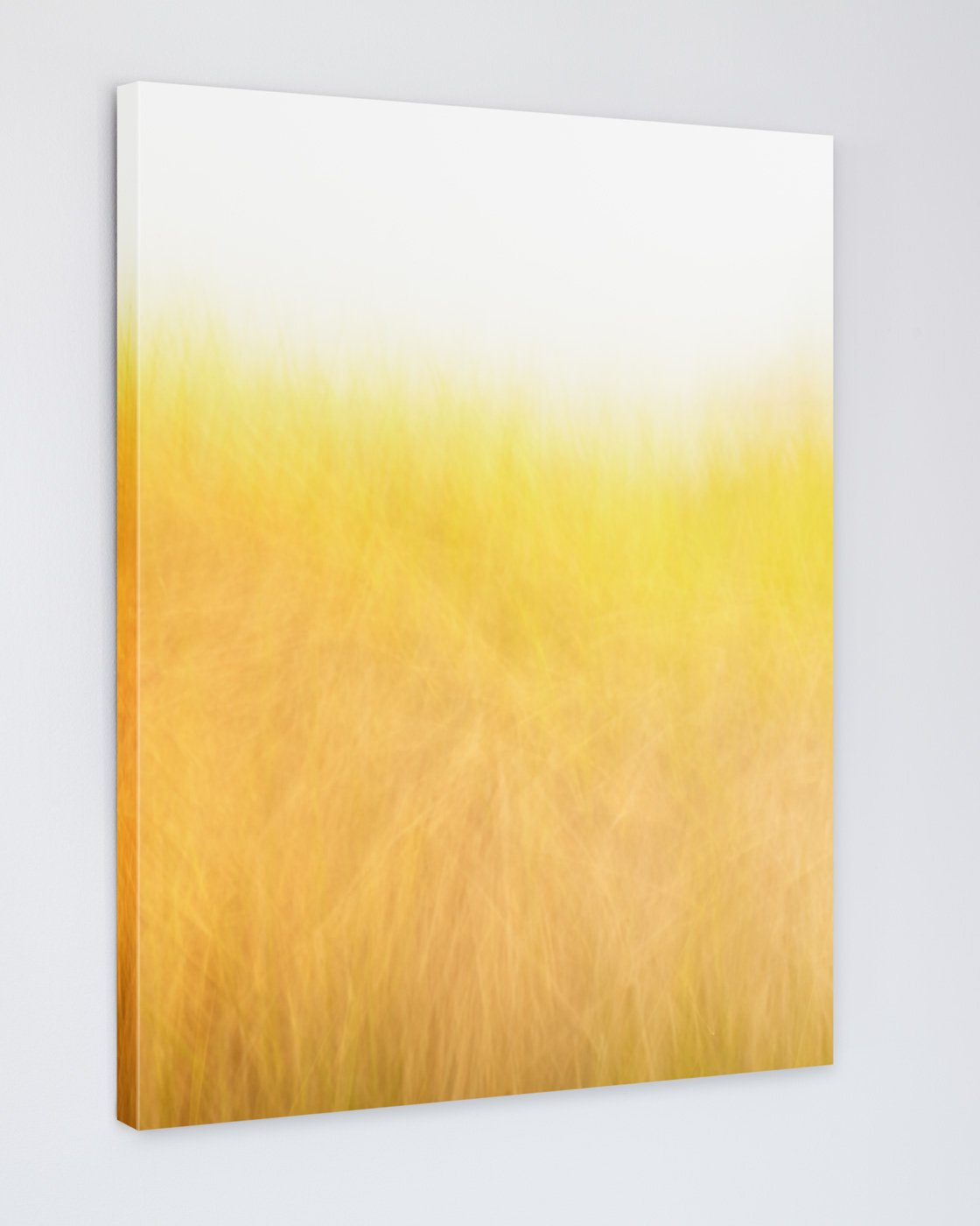 Golden Beach Grass Picture - Sunshine and Breeze Canvas