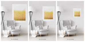 Golden Beach Grass Picture - Sunshine and Breeze Size Chart