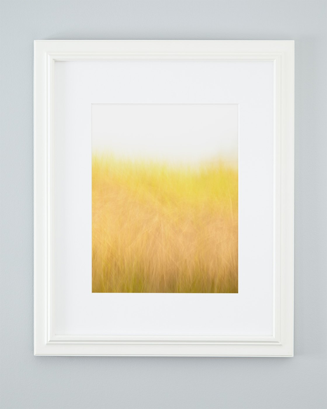 Golden Beach Grass Picture - Sunshine and Breeze Framed