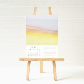 2017-Abstract-Art-Calendar-Easel-July