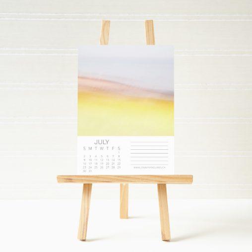 2017 Abstract Calendar Easel