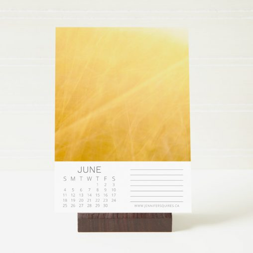 2017 Abstract Calendar Stand
