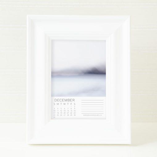 2017 Abstract Frameable Calendar