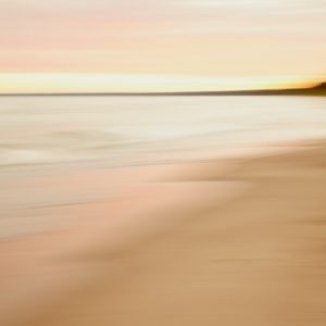 Pink Beach Abstract Art - Sultry Surf