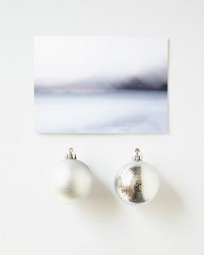 Premium Modern Holiday Cards - Indigo Escape
