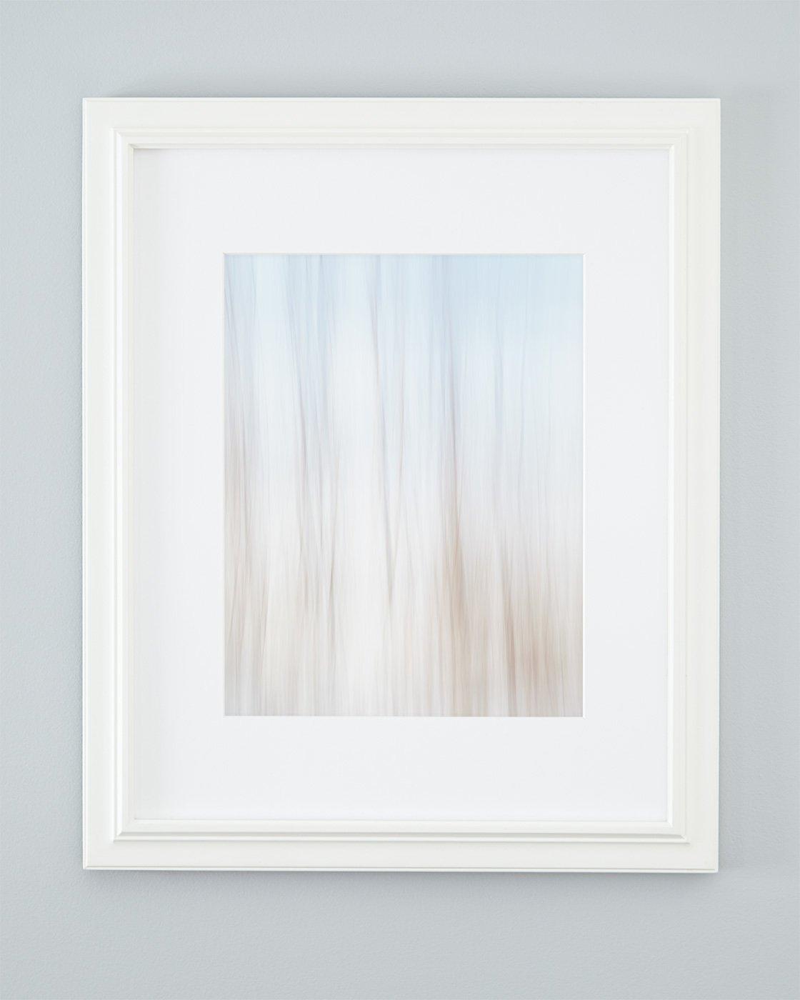 Coastal Modern Decor - Melt Away - Framed