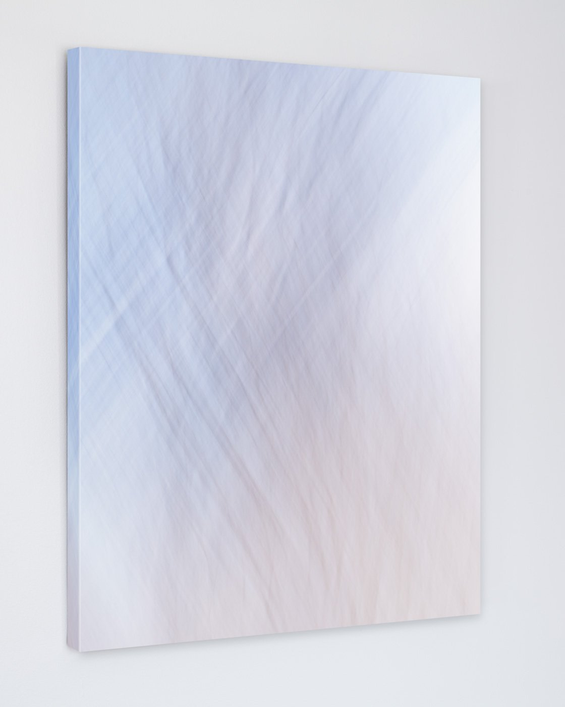 Serene Abstract Art Print Canvas - Ebb and Flow