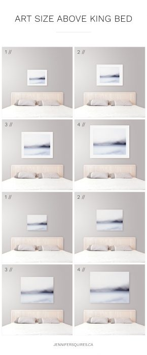 Art size for above the bed jennifer squires productions - Over the bed art ...