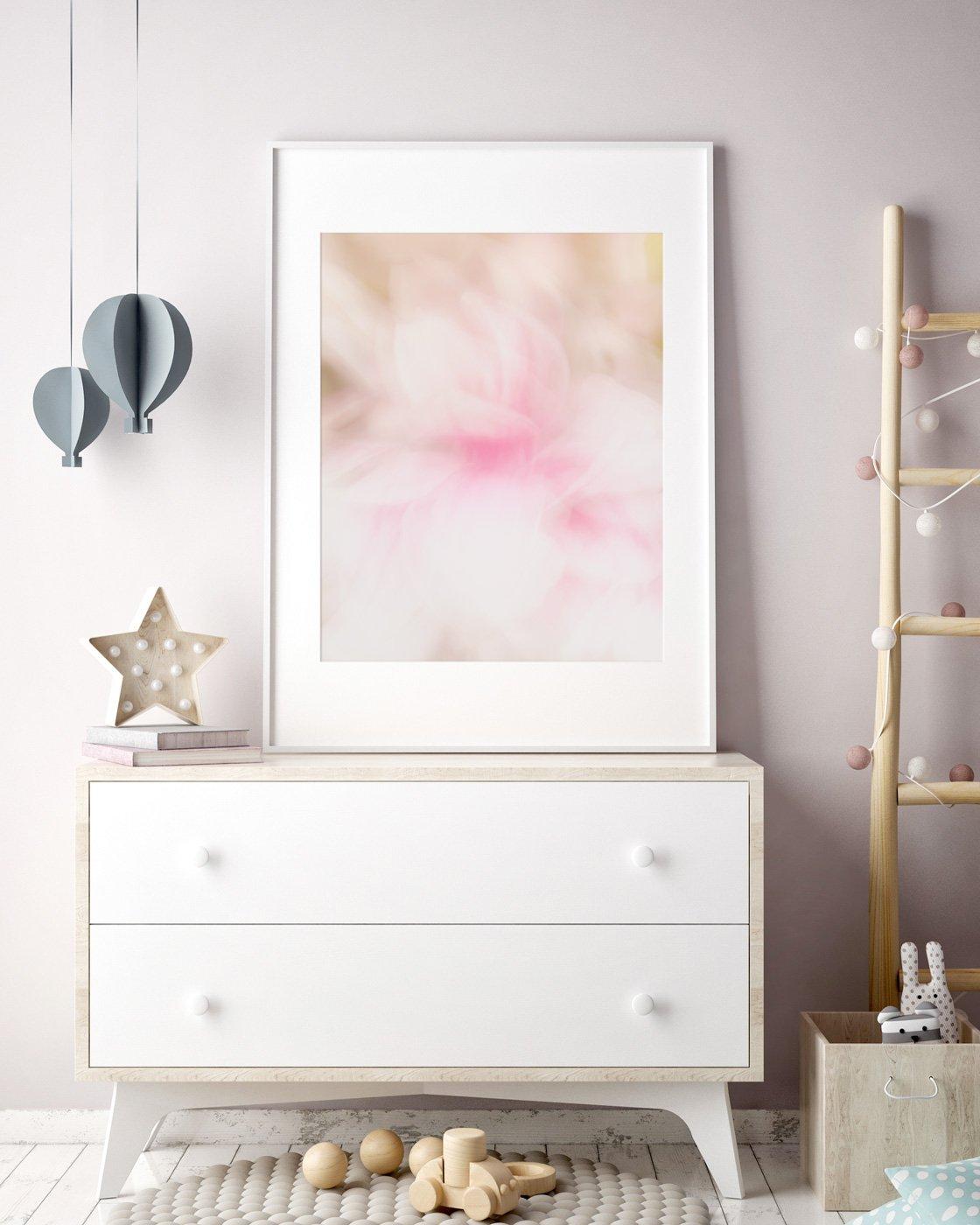 modern girl s room decor sophia pretty abstract flower print modern girl s room decor sophia jennifer squires