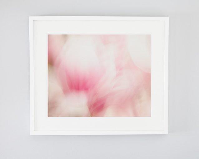 Modern Little Girl's Room Decor - Madison - Abstract Flower Print