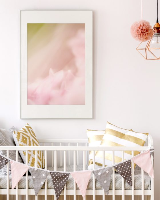 Modern baby girl nursery ideas for scandinavian style homes for Modern nursery decor
