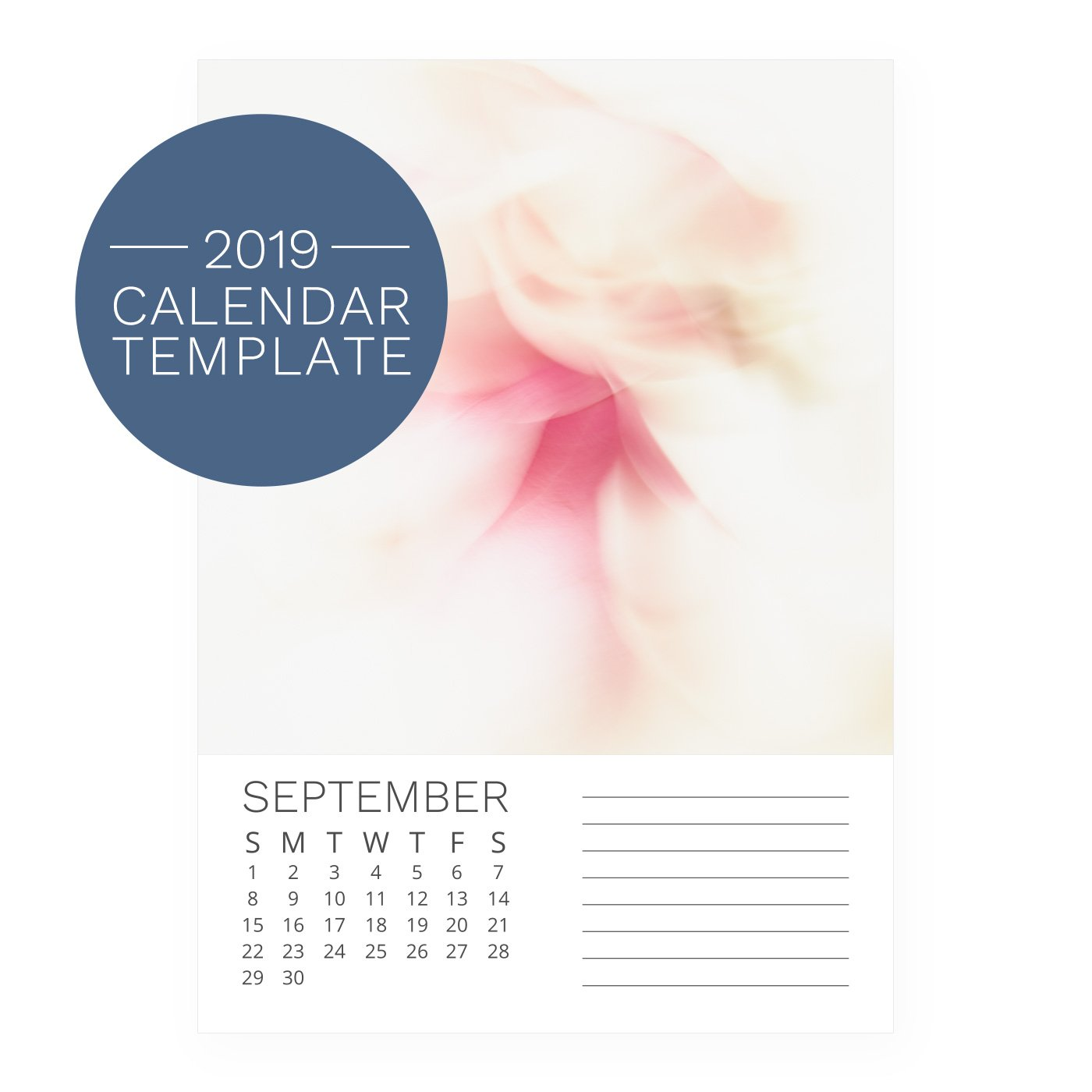 2019 calendar template printable diy download maxwellsz
