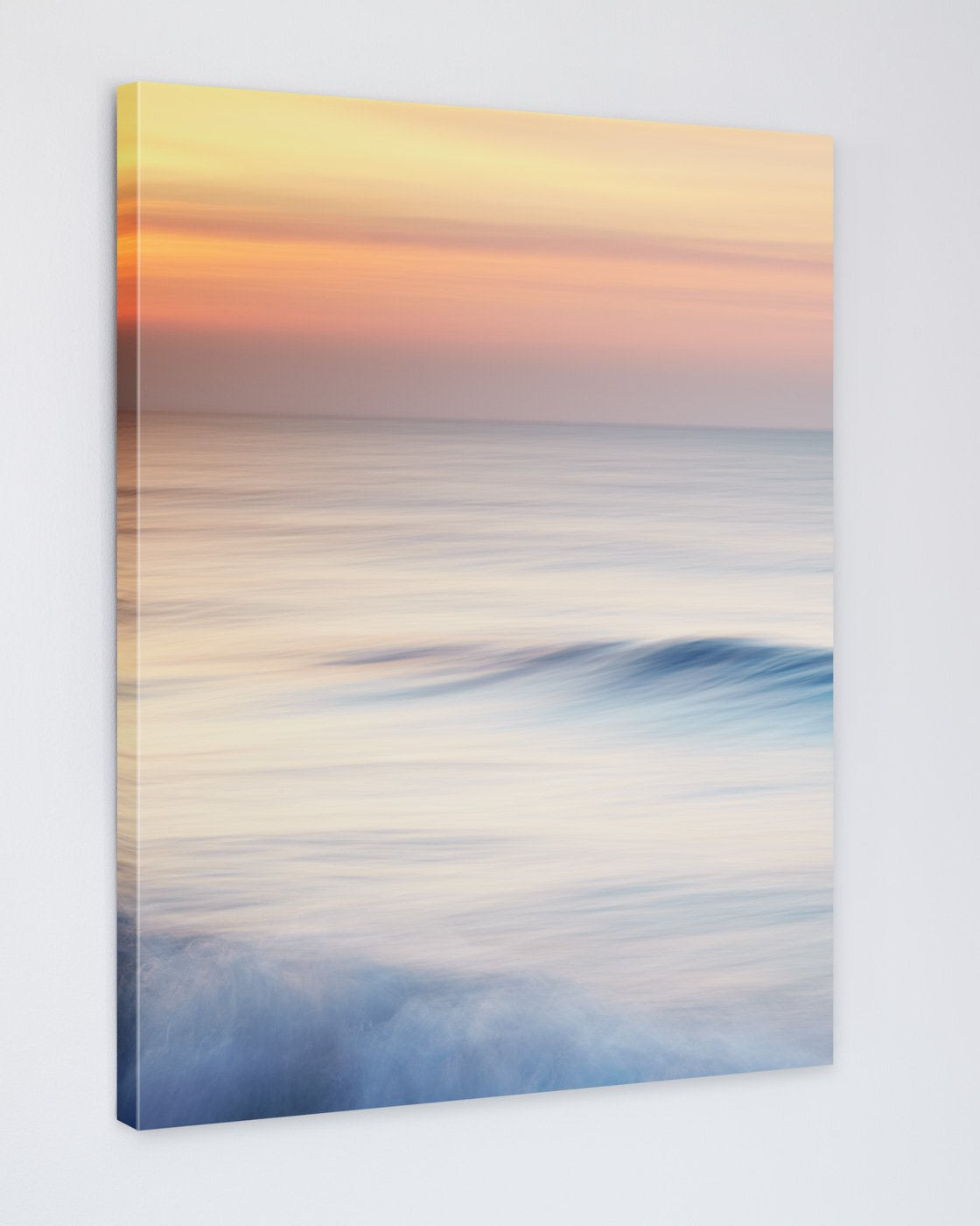 Beach Sunrise Canvas Image - Anna the Early Riser
