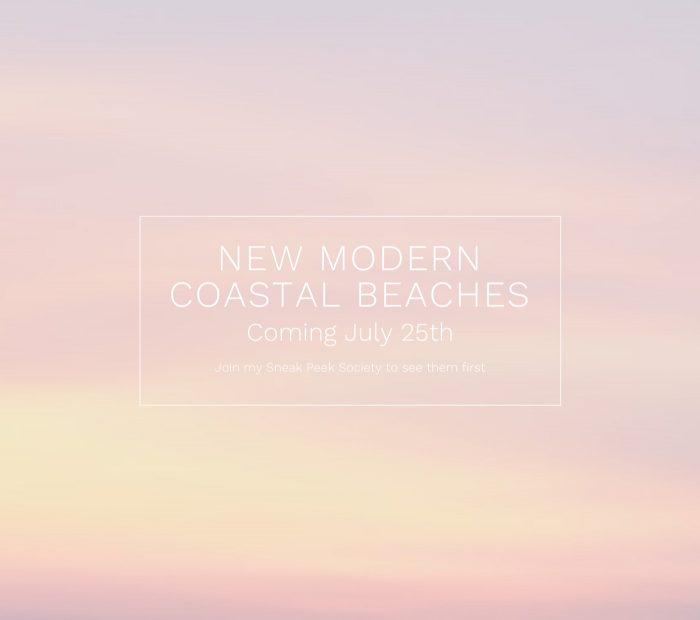 New Modern Coastal Beaches