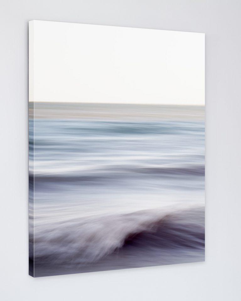 Ocean Wall Art Canvas - Chantal Strolls Along the Shore