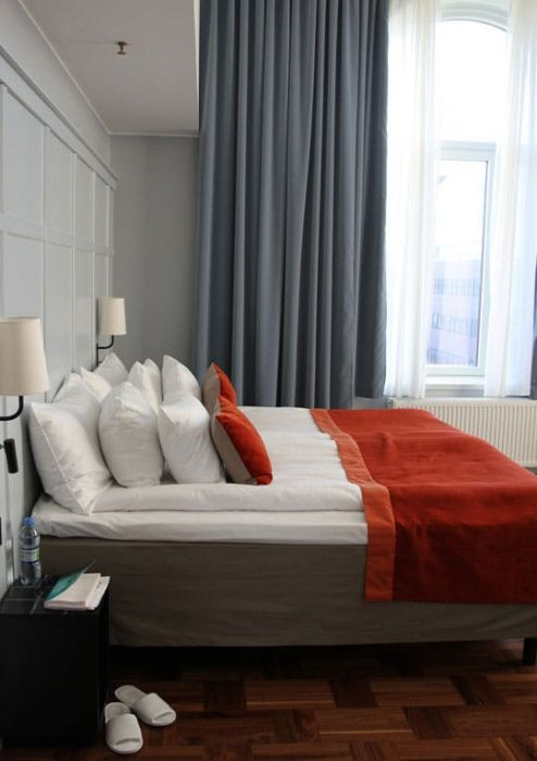 Two Duvets on One Bed - Apartment Therapy, Scandic Hotel