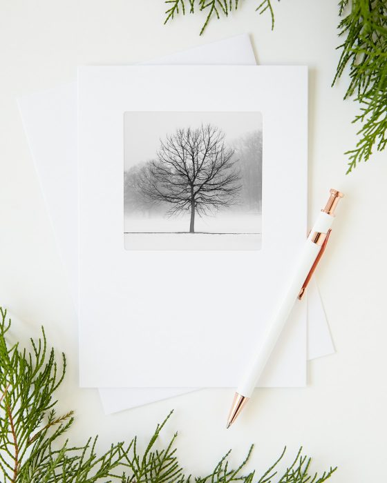 Tree Christmas Greeting Cards