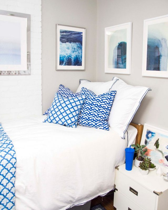 Blue Bedroom Wall Art