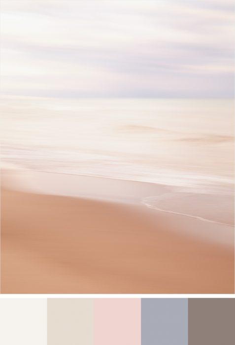 Benjamin Moore Paint Colour Palette for 2018 - She Danced Among the Morning Tide
