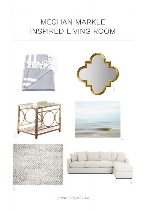 Meghan Markle Home Decor Living Room Style - Scandinavian Chic