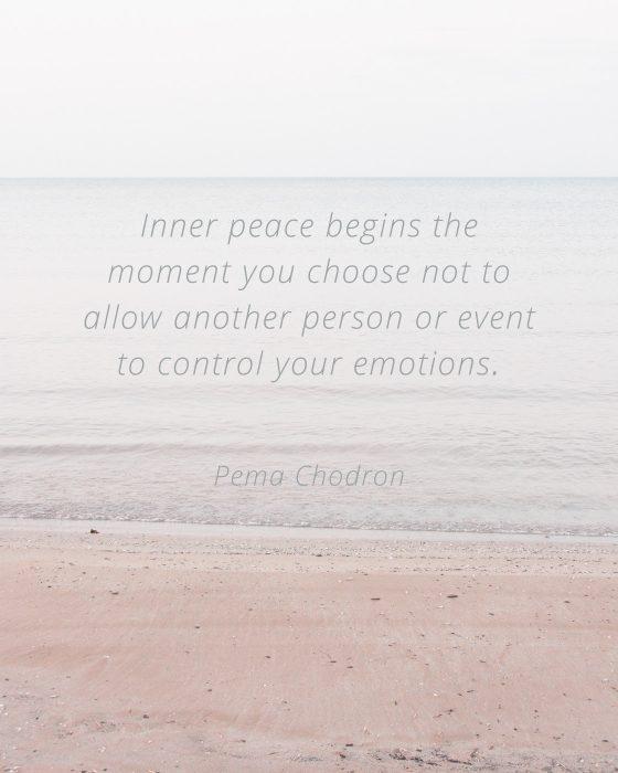 Valentine's Day Self Care - Pema Chodron Quote