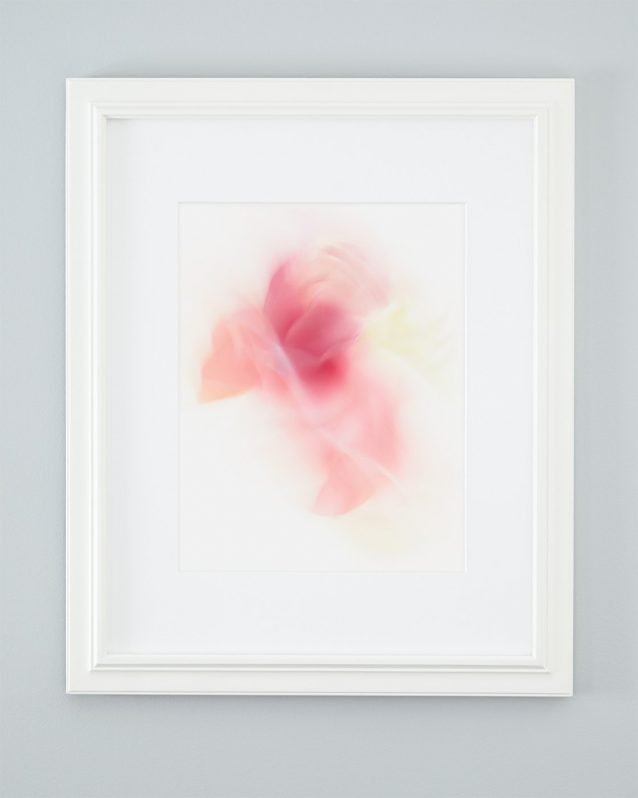 Alisha - Pink Abstract Flower Art