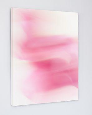 Tara - Pink abstract wall art canvas