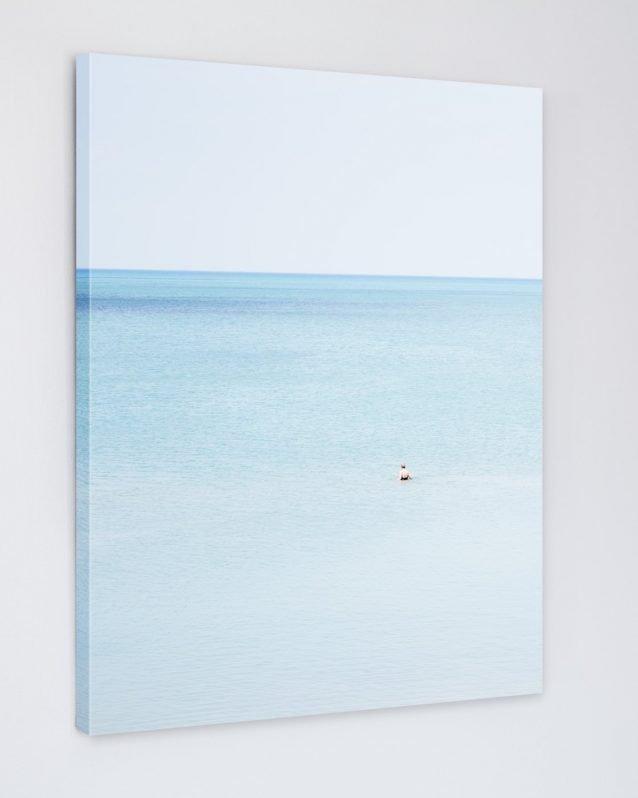 Woman Swimming, Pinery - Coastal Fine Art Canvas